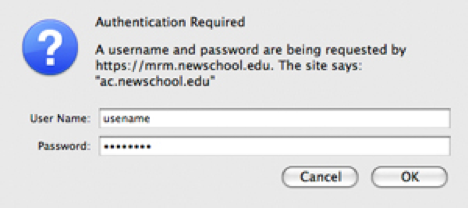 Authenticate ID Mac