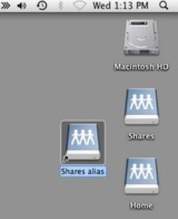 Connect Mac shortcut