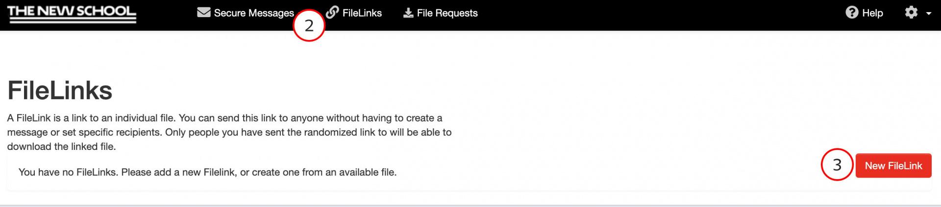 New File Link