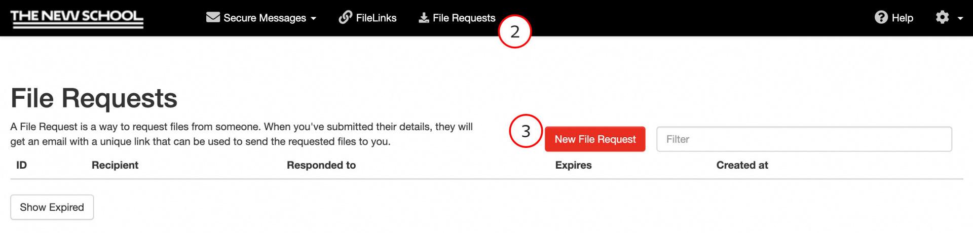 Request File