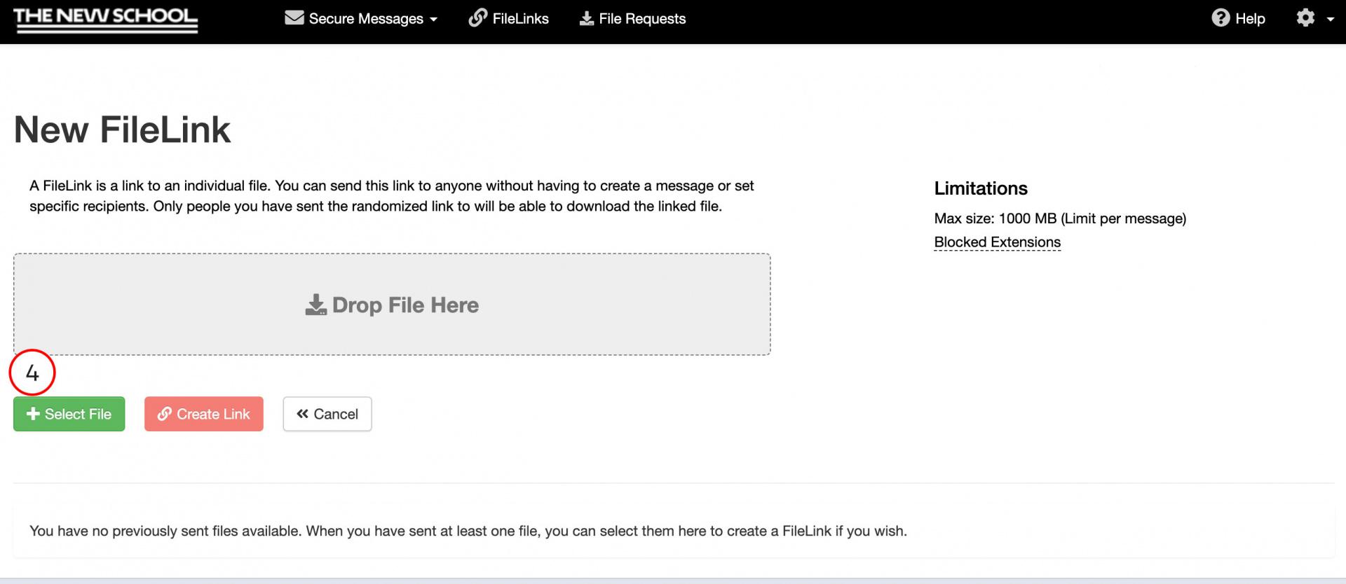 Upload File Link File