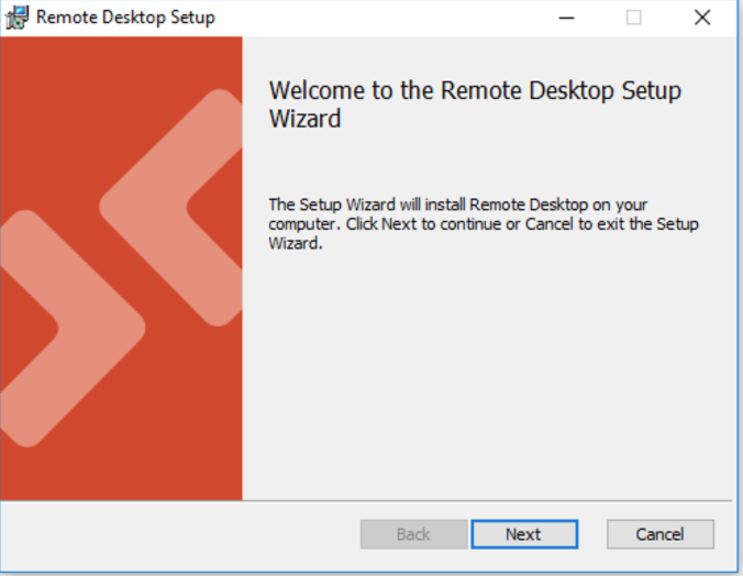 Remote Desktop Installation