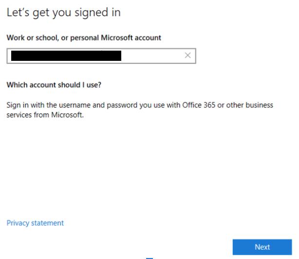 Microsoft Login for Remote Desktop Client
