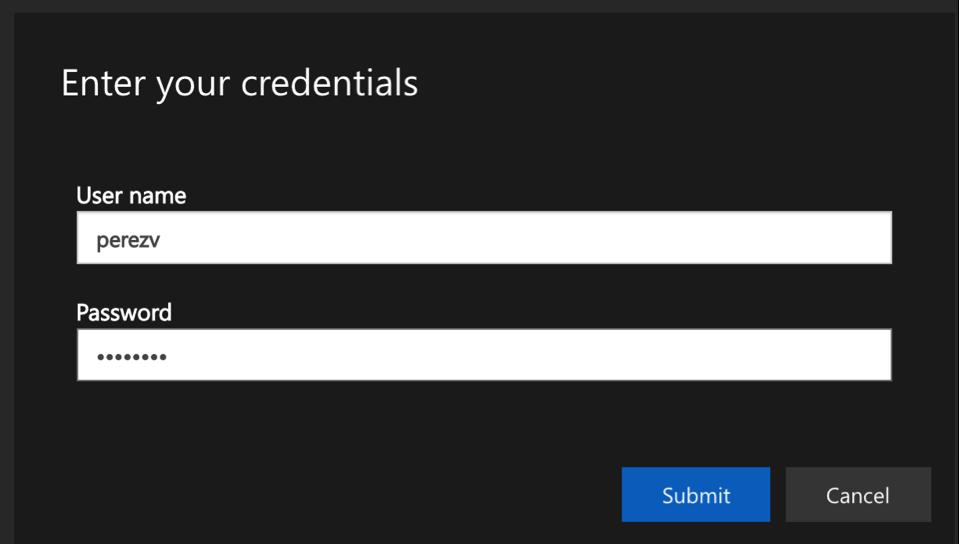 Cloud Desktop Login